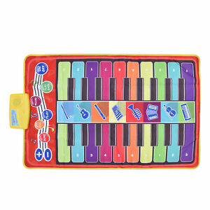 Children Piano Blanket Baby Enlightenment Piano Pedal Piano Mat Kids Play Toys