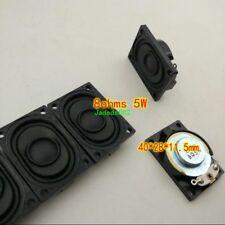 2pcs 2840 8Ohm 8Ω 5W small speaker Loudspeaker For LCD TV high quality