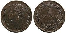 2 centesimi 1896 BB+ - RR