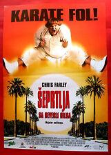 BEVERLY HILLS NINJA 1997 CHRIS FARLEY NICOLL SHERIDAN C. ROCK EXYU MOVIE POSTER