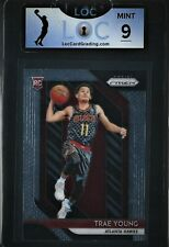 2018-19 Panini Prizm Trae Young RC #78 LOC MINT 9 CHARITY AUCTION