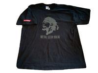 RARE Vintage Metal Gear Solid VTG Video Game Promo Shirt XL Hideo Kojima MGS HTF