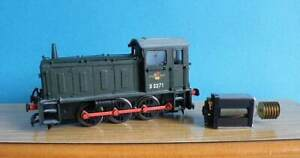 Bachmann Plastic Re-painted - BR Drewry 0-6-0 Class 04 Diesel Shunter Loco
