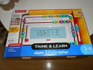 Fisher Price Think and Learn Alpha Slide Writer Age3-6 Writing Spelling Creative