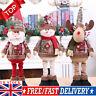Snowman Elk Santa Claus Standing Doll Christmas Toy Party Home Xmas Decor UK