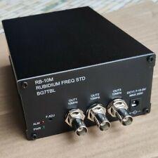 Rb 10m 10mhz Rubidium Standard Frequency Bg7tbl Atomic Clock High Precisio Clock