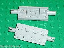 2 x LEGO MdStone Wheels holder 30157 / Set 7665 10195 4766 7672 8654 7243 7633..