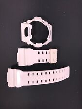CASIO G-8900 G-Shock Original White (Glossy) Rubber Watch BAND & BEZEL Combo