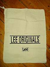 LEE JEANS COTTON TOTE DUFFEL BAG NEW AND UNUSED