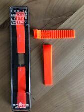 FORTIS original Armband Silikon- Kautschuk Orange für B-42, F-43 Modelle