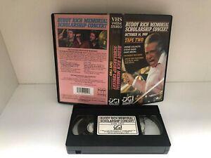 BUDDY RICH Memorial scholarship concert, tape 2 - VHS