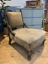 More details for vintage upholstered chair