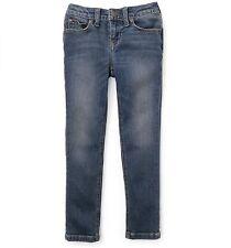 Ralph Lauren Childrenswear Bowery Skinny Jeans, BLUE, 6