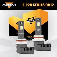AUXBEAM 9012 HIR2 LED Headlight Kit White Bulbs 5000LM 50W High Low Beam 6500K