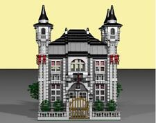 lego  Embassy Building  instructions PDF, LDD and  Inventory List 4417 pieces