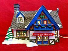 Skate & Ski Shop Dept 56 Snow Village 54674 Christmas city building chalet A
