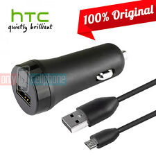 Original HTC Fast 2A Car Charger Data Cable for HTC M8 M9 Verizon Sprint T-Mobil