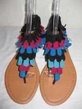 Carrini Flat Thong Sandals Shoes Women's Size 10
