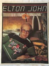 Elton John 1976 Louder than Concorde But Not Quite As Pretty Concert Program