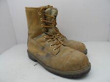 """Kodiak Men's 8"""" Prowalker Steel Toe Steel Plate Work Boots Tan Size 10M"""