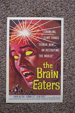 The Brain Eaters Lobby Card Movie Poster Edwin Nelson