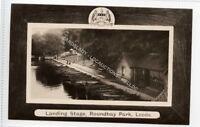(Ld7485-473) RP, Landing Stage, Roundhay Park,  LEEDS,  Unused VG