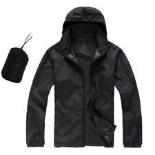 Useful Men Women Waterproof Windproof Jacket Outdoor Bicycle Sports Rain Coat #