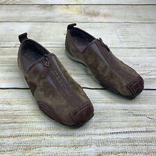 Merrell Barrado Suede Leather Mocha Athletic Shoes Women's 6 EU 35 Walking Great