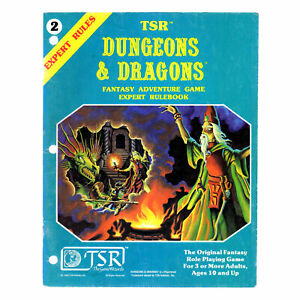 Dungeons & Dragons Expert Rules 2015 - D&D Classic TSR OOP THG