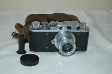 FED 1 (type G) Vintage 1955 Soviet Rangefinder Camera & Case. No.630886. UK Sale