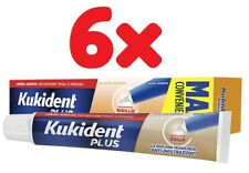 OFFERTA Kukident Sigillo Maxi Crema Adesiva Per Dentiere 6 x 57gr