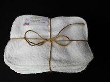 Terry/Fleece  Baby Wipes x 10 Reusable & Washable