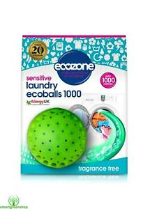 Ecozone Sensitive Laundry Ecoballs 1000 Washes (New Design for Improved Results)