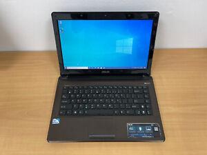 "ASUS K42F 14"" LAPTOP, INTEL PENTIUM,  500 GB HDD, 2 GB RAM, WINDOWS 10"
