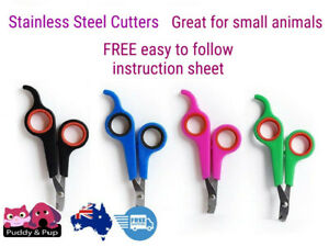 Nail Claw Clippers Trimmer Scissors Cutter Cat Kitten Dog Puppy Pet Grooming New