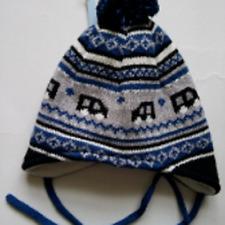 Sterntaler 5-6 months baby knitwear hat 100% cotton