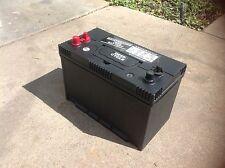 12v 12 volt maintance free sealed battery solar golf cart rv marine