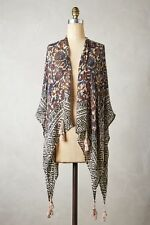 New Anthropologie Tasseled Cilla Poncho ~ BEAUTIFUL! ~ SOLD OUT!