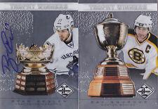 12-13 Limited Ryan Kesler /99 Auto Trophy Winners Canucks 2012