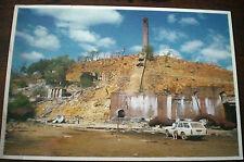 NTH QLD, CHILLIGOE MINING SMELTERS VINTAGE 1980's POSTCARD  Australia