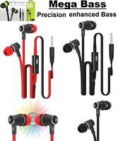 SUPER BASS IN-EAR EARPHONES HANDSFREE HEADPHONE FOR IPHONE IPAD IPOD SAMSUNG+MIC