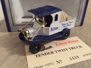 Oxford Diecast Krogers Tender Twist Truck Ford Model T Van 116TU Limited #