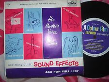 Wind Hurricane Gale Special Effects His Master's Voice 7FX 10  UK 7inch Single
