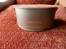 Original Gucci Brillenetui, Bronze