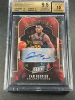 CAM REDDISH 2019 PANINI #RC9 CRACKED ICE HOLOFOIL AUTO ROOKIE RC /25 BGS 9.5 10