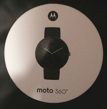 Brand New Motorola Moto 360 Smart Watch for Android Devices 4.3 or Higher BLACK