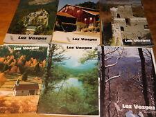 LOT 35 revue magazine pub LES VOSGES années 80 REVUE de TOURISME CLUB VOSGIEN