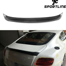 Rear Trunk Spoiler Wing Carbon Fiber Fit For Bentley Continental GT Coupe 12-14