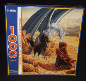 APT Puzzles Midday Marauders Larry Elmore Fantasy Dragon Themed Puzzle Sealed