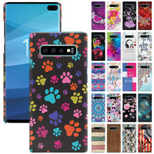 """For Samsung Galaxy S10+ / S10 Plus 6.4"""" Design Protector Hard Back Case Cover"""